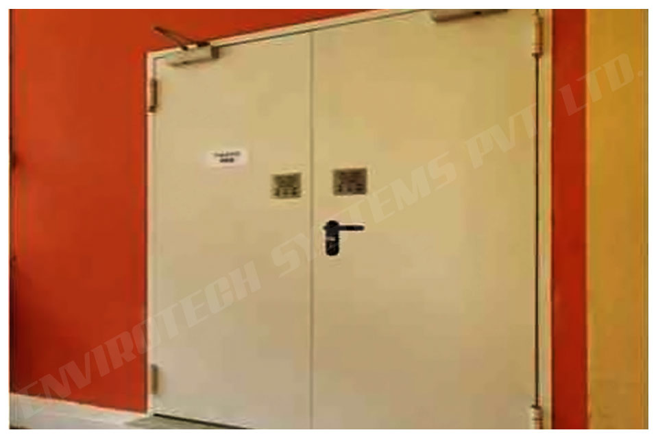 Wooden Acoustic Fire Door Manufacturer In India