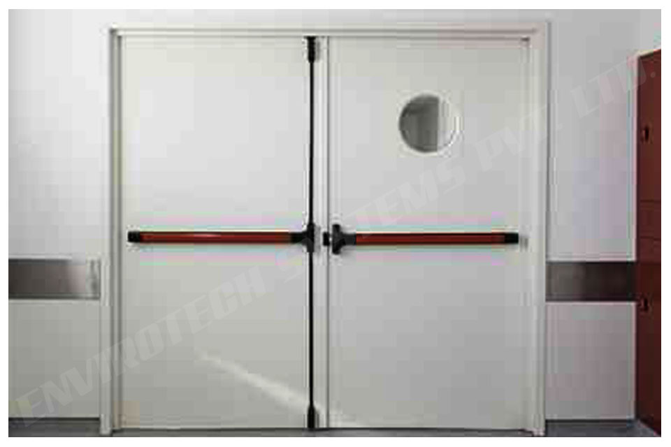 Leading Industrial Acoustic Metal Doors Supplier in India